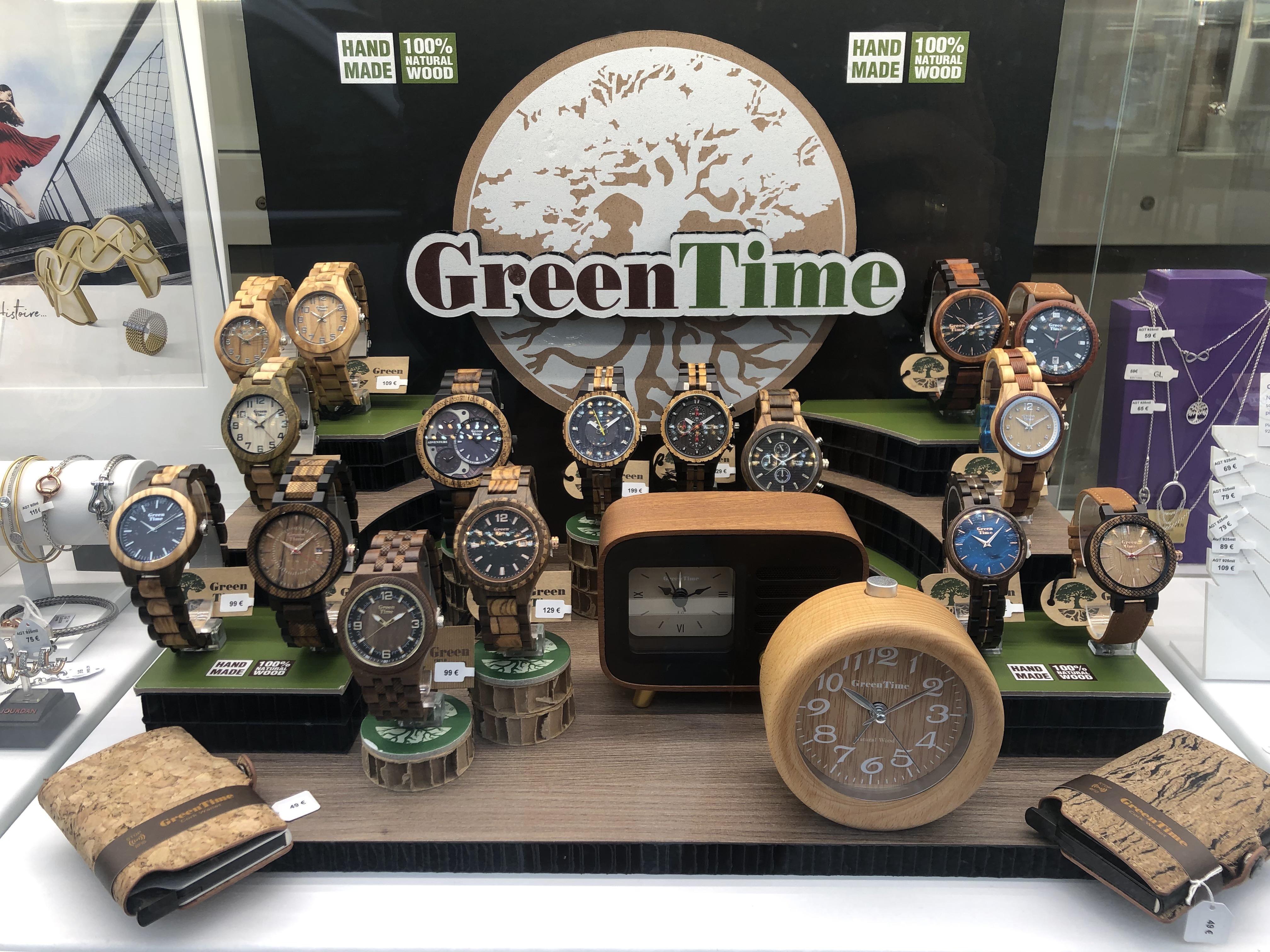 Découvrez notre nouvelle collection de la marque GreenTime