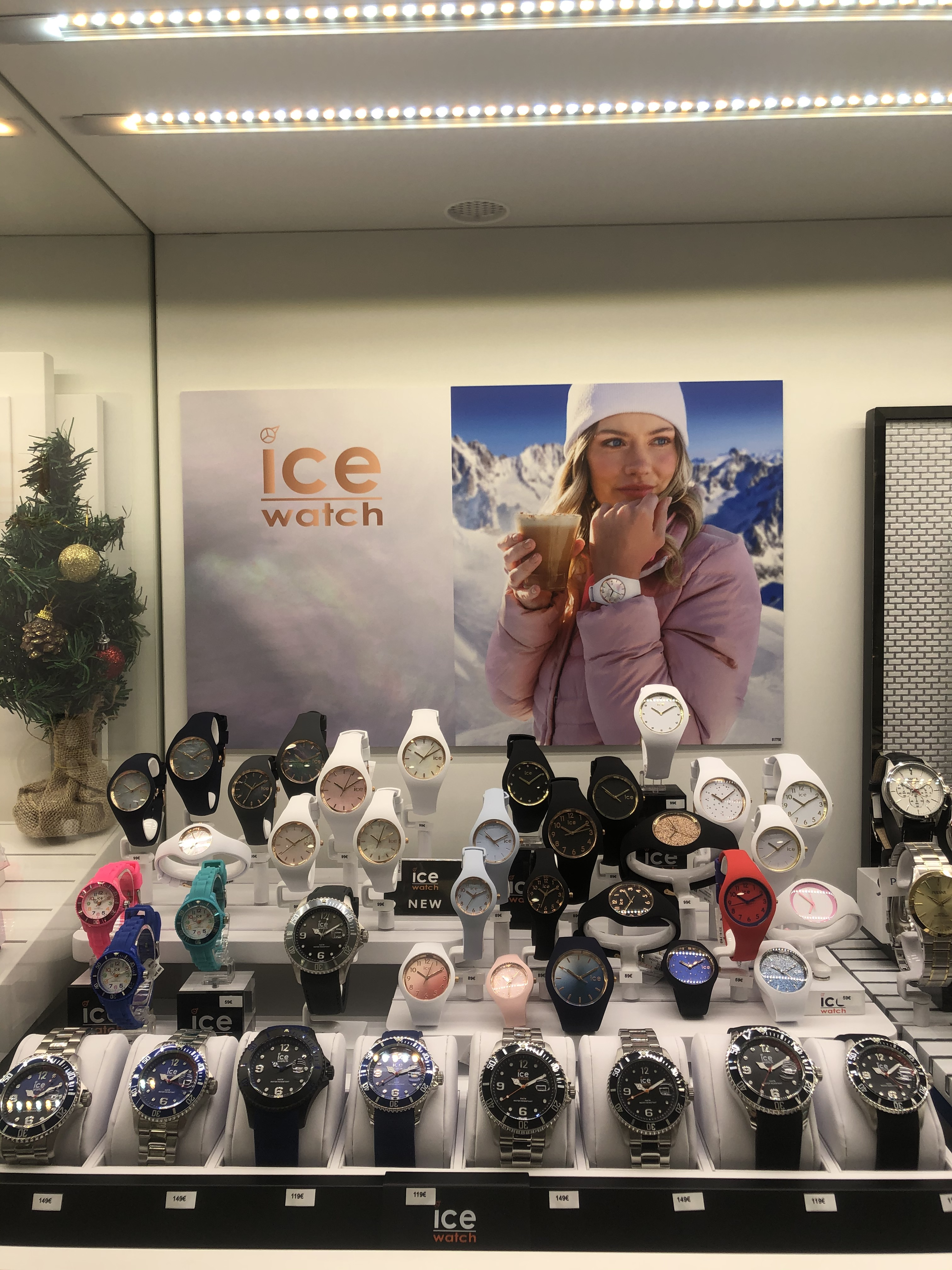 La collection Ice Pearl de Ice Watch